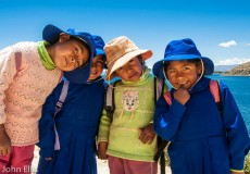 Bolivian Schoolgirls
