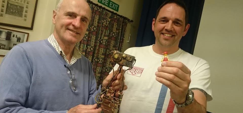 Phil Picks Up The Annual AV Trophy